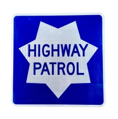 California Highway Patrol Sign
