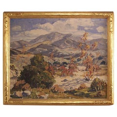 California Landscape Impressionist Painting by Esther Smee