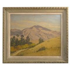 California Landscape Oil Painting by Joseph Bennett