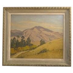 California Landscape Painting by Joseph Bennett