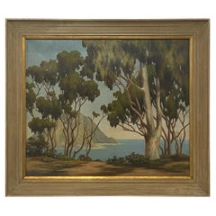 California Landscape Painting of Mono Bay by Earl Graham Douglas