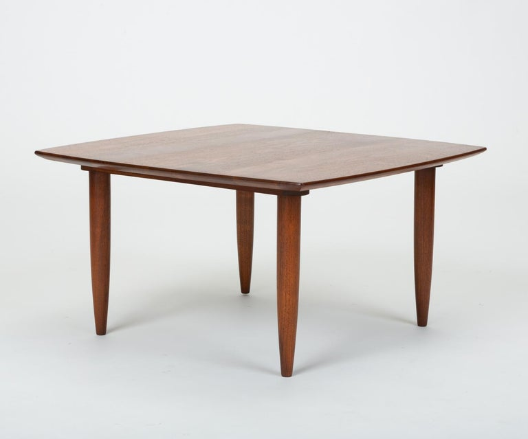 "Mid-20th Century California Modern ""Prelude"" Square Coffee Table by Ace-Hi For Sale"