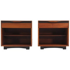 California Modernist Nightstands by John Kapel for Glenn of California