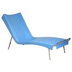 California Modernist Style Fiberglass Chaise Lounge