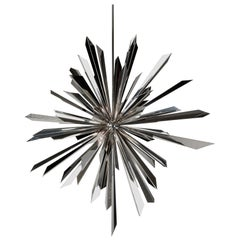 California Sunburst 45 Chandelier designed by Tony Duquette for Remains Lighting