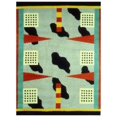 California Woolen Carpet by Nathalie Du Pasquier from Memphis Milano