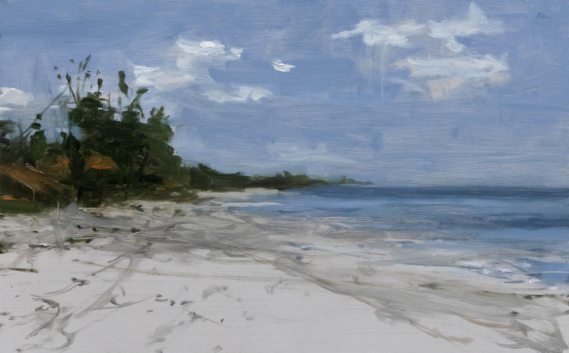 Marinas n°17 (Tanzania) - Landscape Painting
