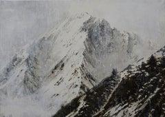 Watercolour Benasque 2 - Mountain Landscape Painting