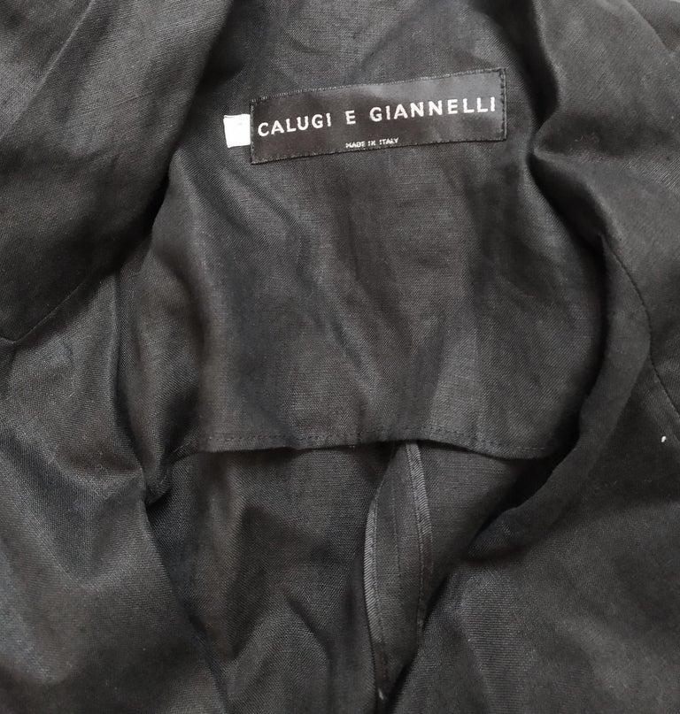 Calugi e Giannelli Mens Vintage Oscars Statue Mesh Sleeve Jacket For Sale 5