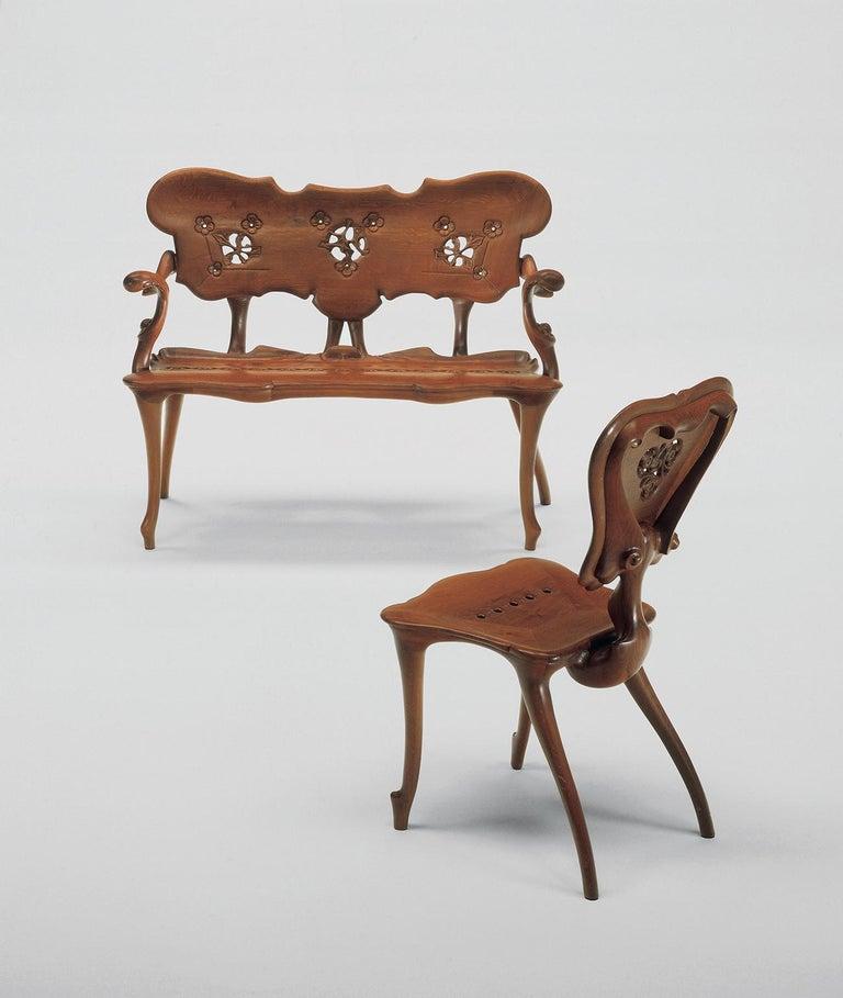Modern Calvet Bench, Antonio Gaudí For Sale