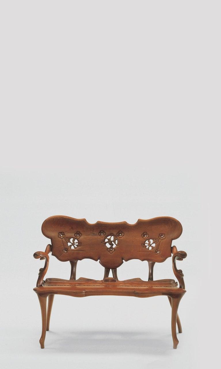 Spanish Calvet Bench, Antonio Gaudí For Sale