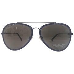 Calvin Klein blue sunglasses NWOT