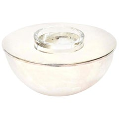 Calvin Klein for Swid Powell Silver Plate Caviar Bowl Barware