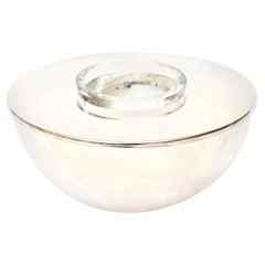 Calvin Klein for Swid Powell Silver Plate Caviar Bowl Barware