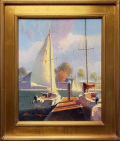 Sailboats at Dana Point