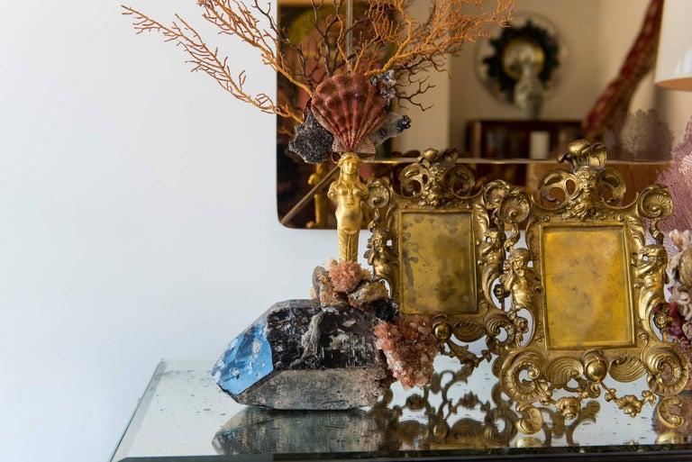 Calypso Coral Sea Fan Quartz Caryatid Sculpture For Sale 2
