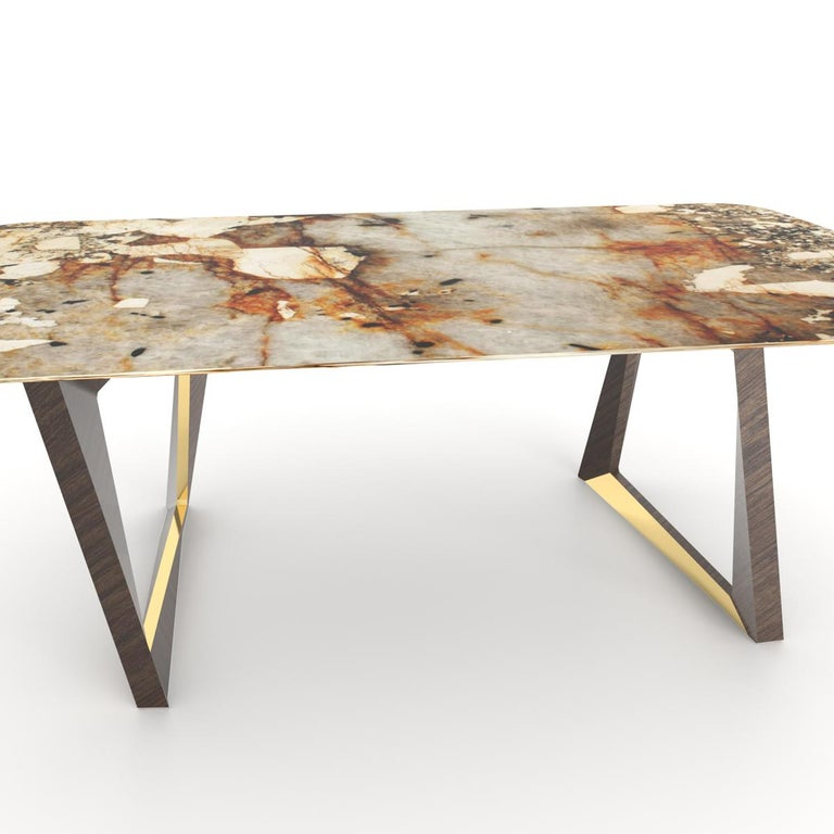 Table Dinning With Calypso Led And Patagonia Granite Lights 5A3RjL4