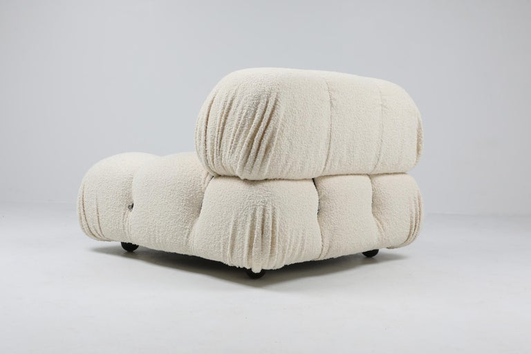 Camaleonda Bouclé Wool Sectional Sofa by Mario Bellini For Sale 8