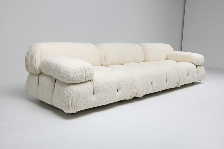 Camaleonda Bouclé Wool Sectional Sofa by Mario Bellini For Sale 1