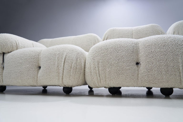 """Camaleonda"" Modular Sofa in 4 Segments by Mario Bellini for B&B, Italy, 1971 For Sale 4"