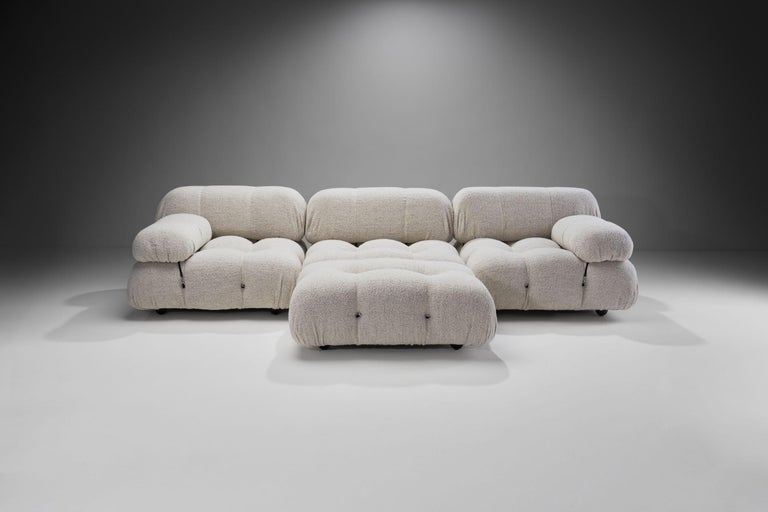 "Mid-Century Modern ""Camaleonda"" Modular Sofa in 4 Segments by Mario Bellini for B&B, Italy, 1971 For Sale"