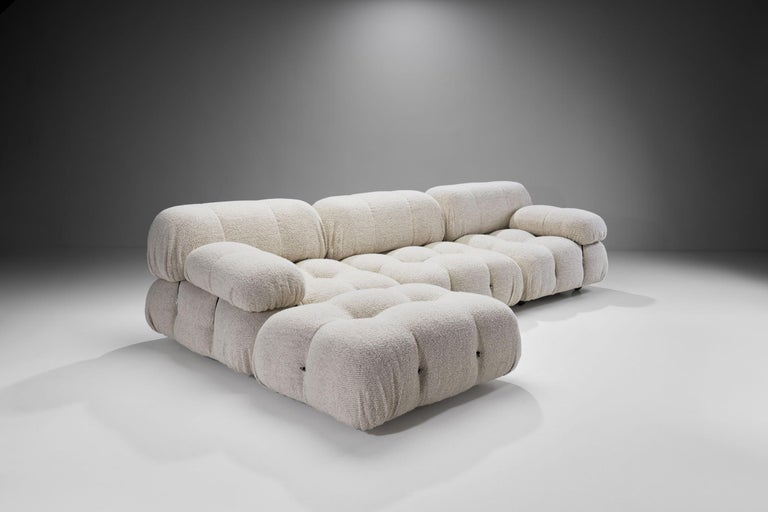 "Italian ""Camaleonda"" Modular Sofa in 4 Segments by Mario Bellini for B&B, Italy, 1971 For Sale"