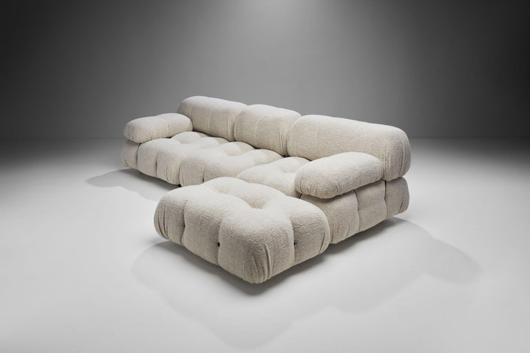 "Late 20th Century ""Camaleonda"" Modular Sofa in 4 Segments by Mario Bellini for B&B, Italy, 1971 For Sale"