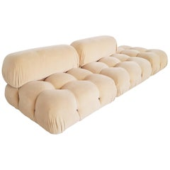 Camaleonda Sectional Sofa by Mario Bellini in Original Camel Alpaca Wool