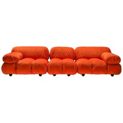 Camaleonda Sectional Sofa in Bright Orange