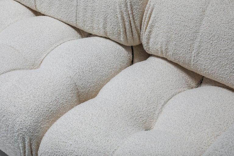 20th Century Camaleonda Sofa in Boucle Wool by Mario Bellini For Sale