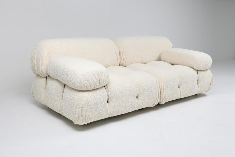 Camaleonda Sofa in Boucle Wool by Mario Bellini For Sale 2