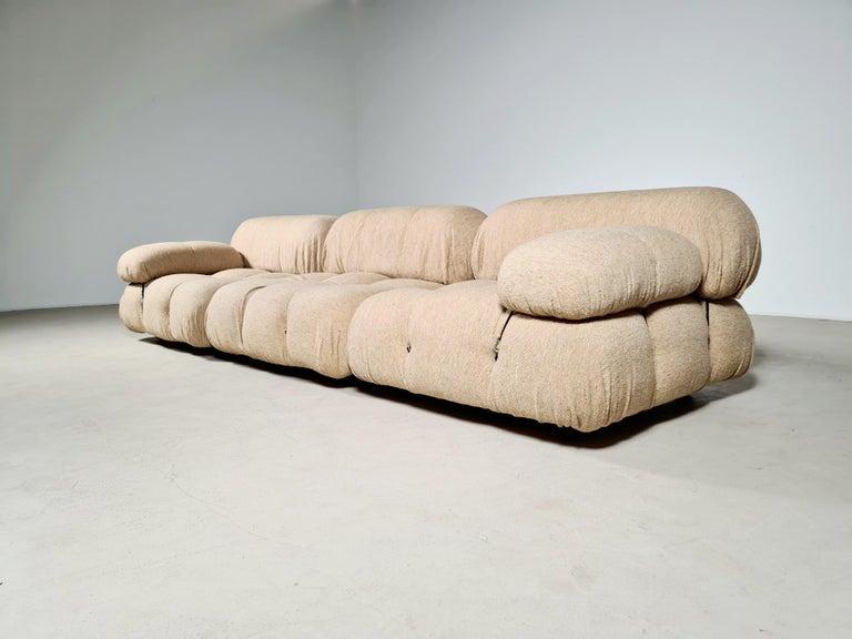 Camaleonda Sofa in Original Fabric by Mario Bellini for B&B Italia, 1970s In Good Condition For Sale In amstelveen, NL