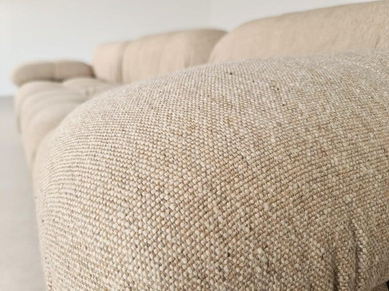 Late 20th Century Camaleonda Sofa in Original Fabric by Mario Bellini for B&B Italia, 1970s For Sale