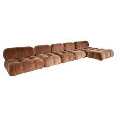 Camaleonda Sofa in Original Fabric by Mario Bellini for C&B Italia, 1970s