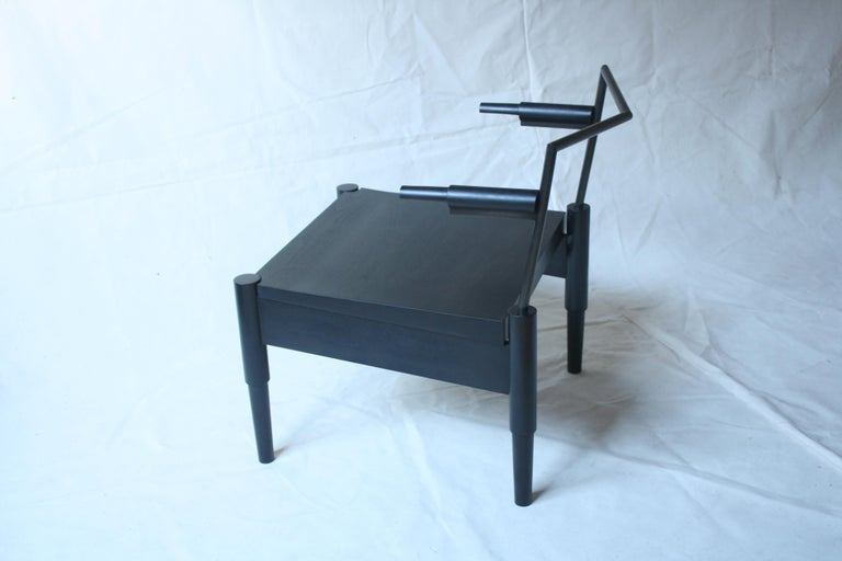 American Camber Handmade Lounge Chair by Laylo Studio For Sale
