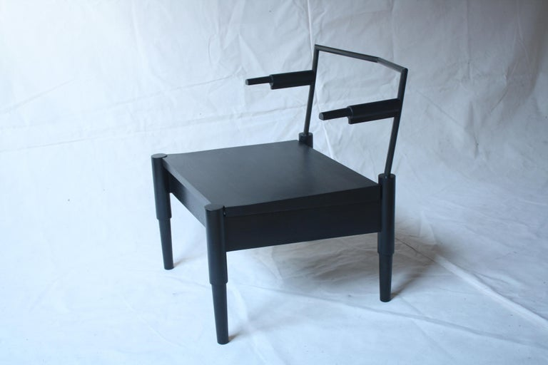 Camber Handmade Lounge Chair by Laylo Studio In New Condition For Sale In Chicago, IL