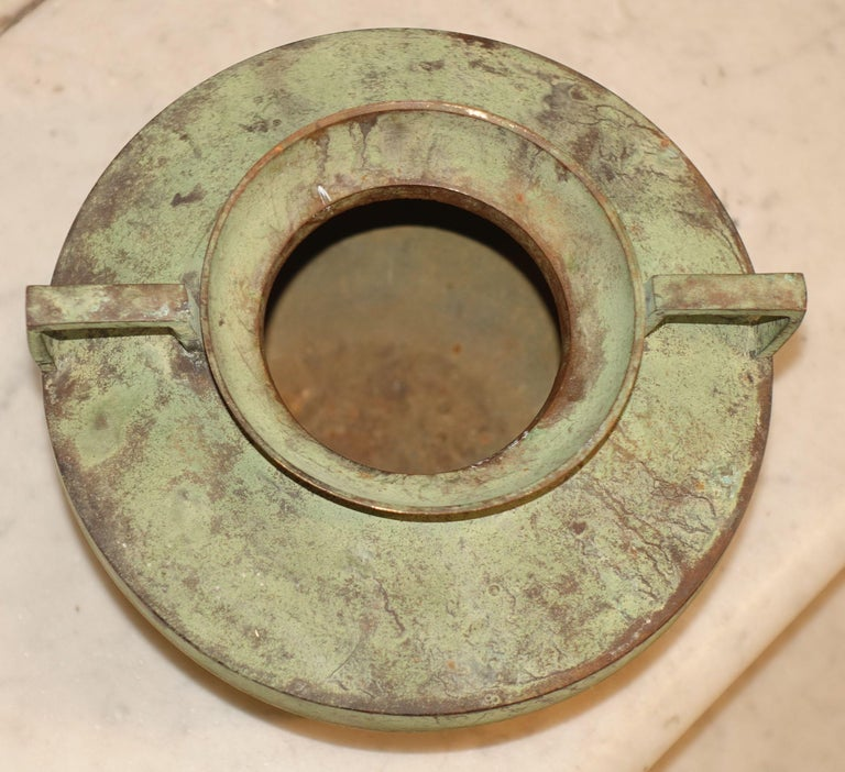 Cambodian Copper Bowl, Cpntemporary In New Condition For Sale In New York, NY
