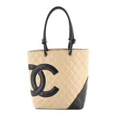 Cambon Tote Quilted Leather Medium