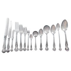 Cambridge by Gorham Sterling Silver Flatware Service for 12 Set 310 Pieces