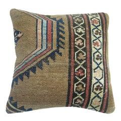Camel Bakshaish Rug Pillow