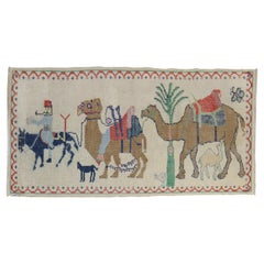 Camel Donkey Anatolian Pictorial Rug