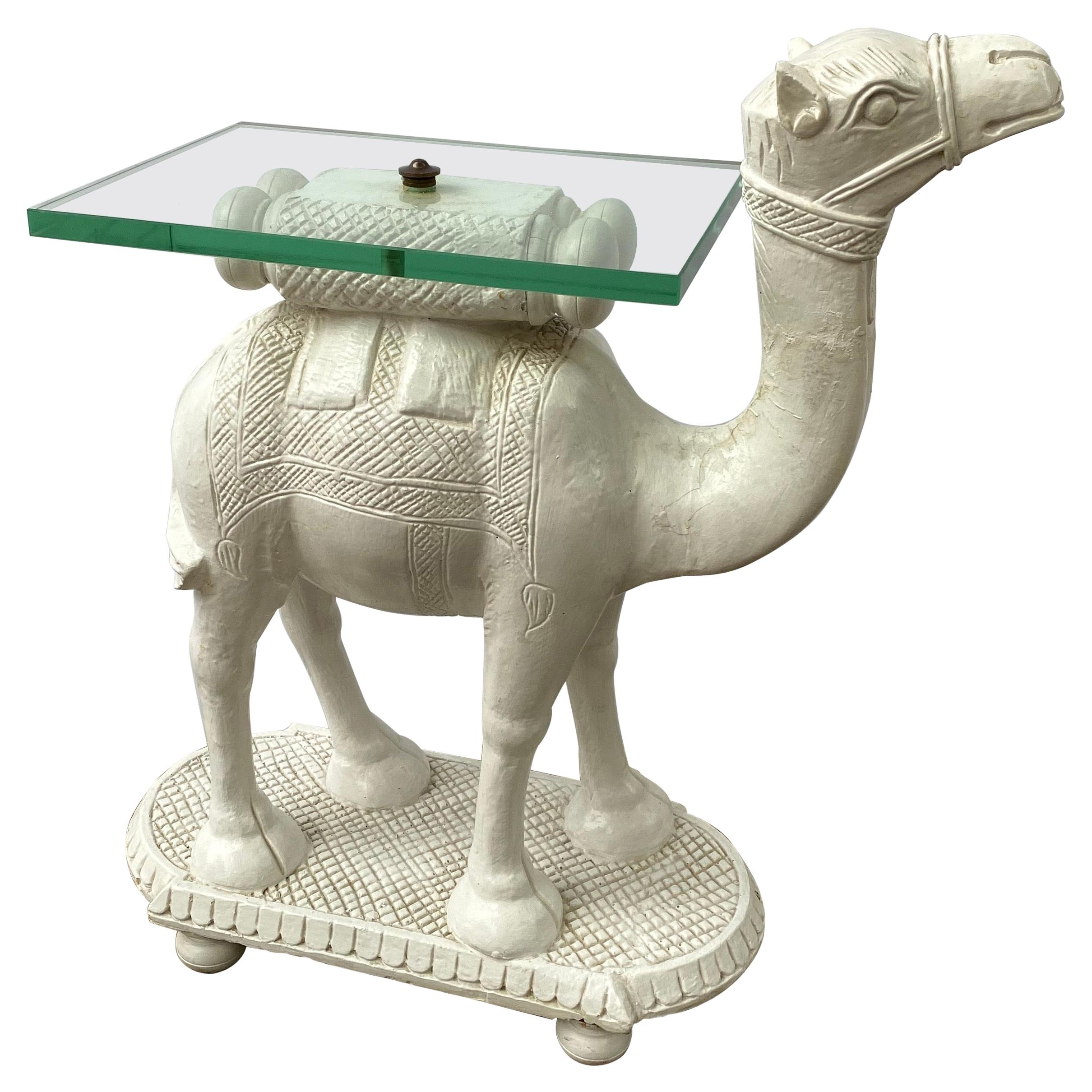 Camel Drink Table/ Side Table