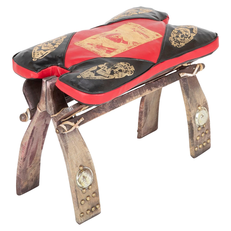 Camel Seat Form Foot Stool