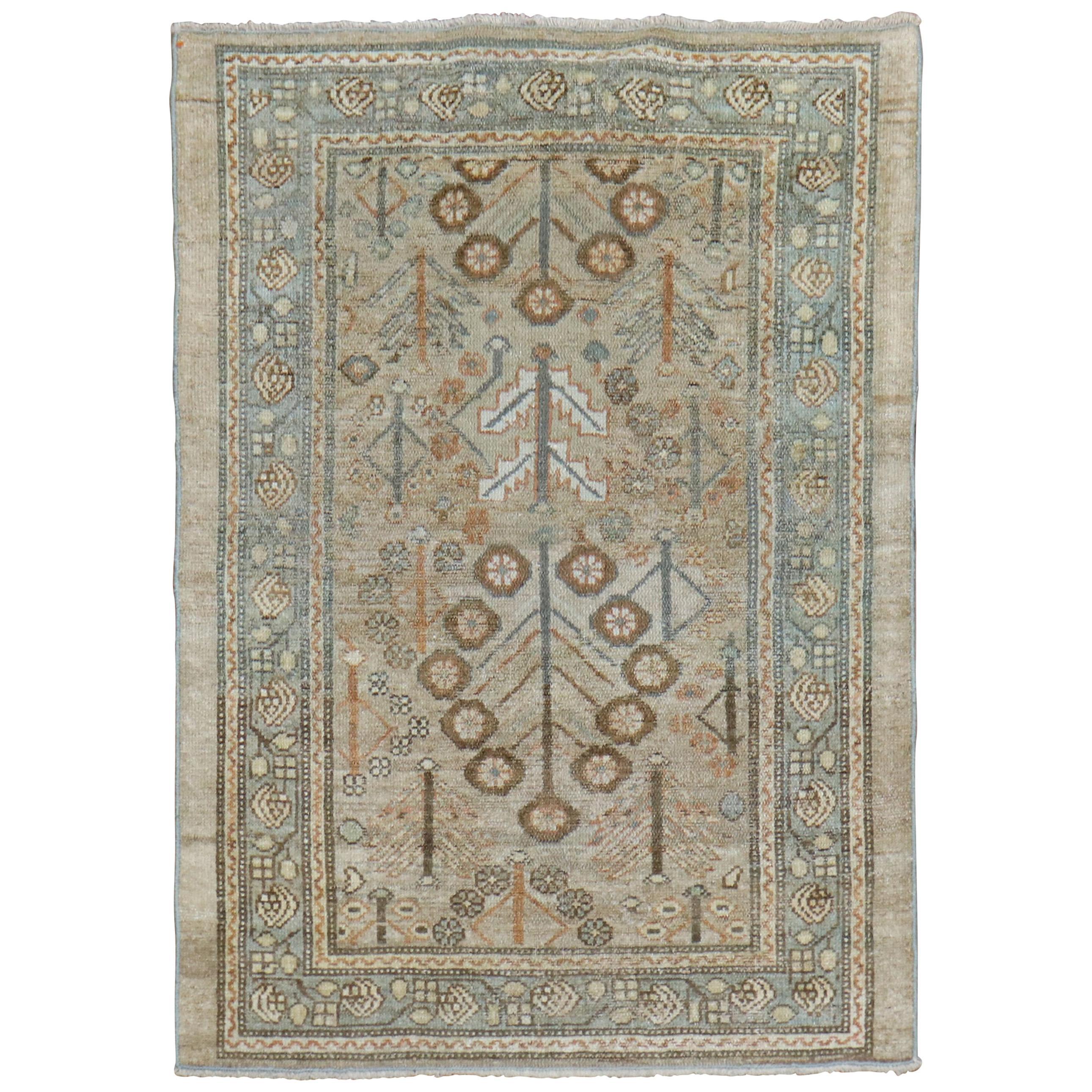 Camel Tribal Antique Persian Serab Decorative Rug Mat