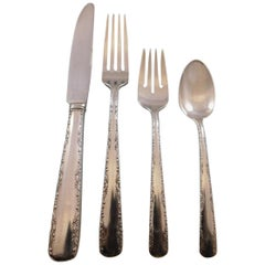 Camellia by Gorham Sterling Silver Flatware Set for 8 Service 41 Pieces Dinner