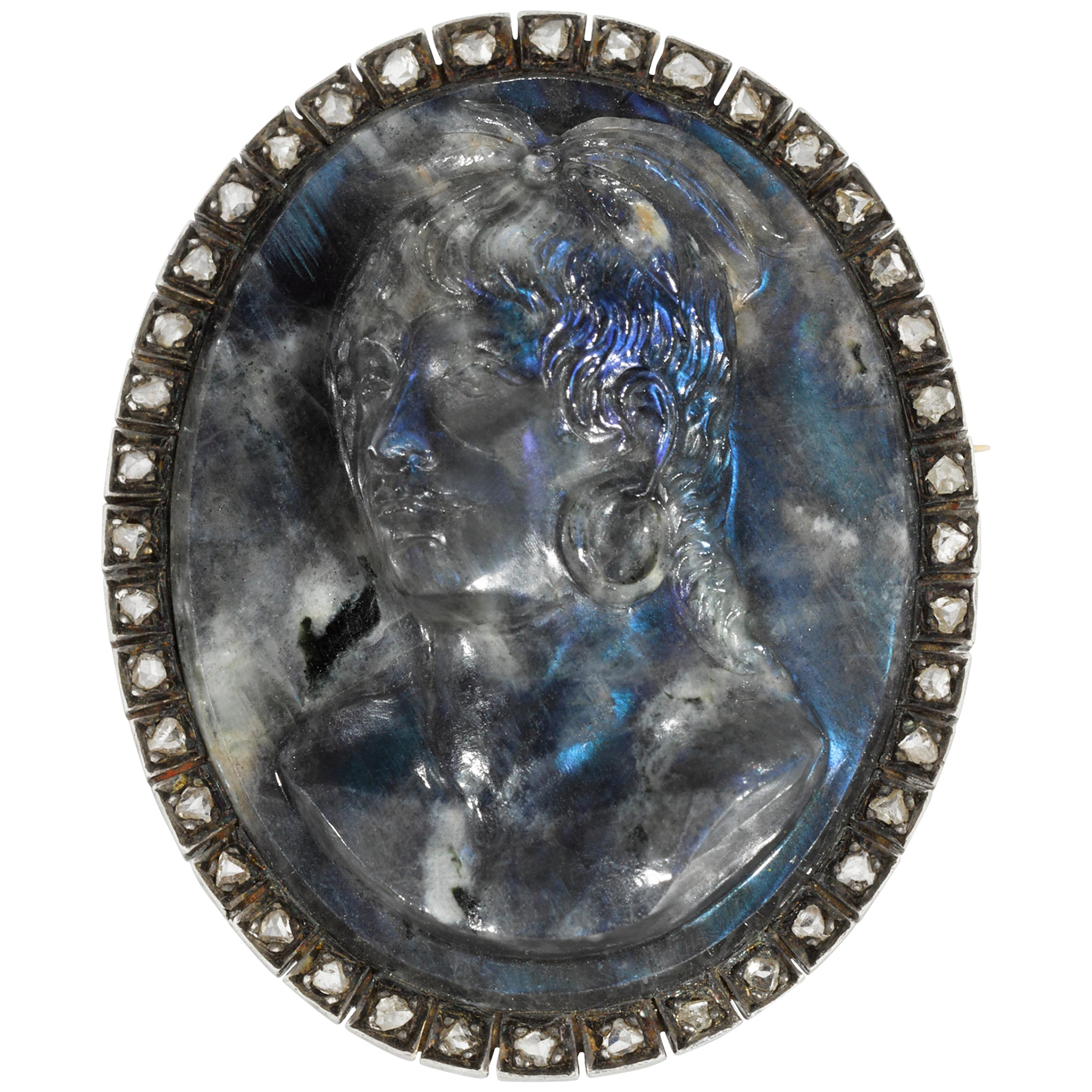 Cameo Of Chief Billy Bowlegs For Sale At 1stdibs