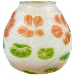 Cameo Vase Louis Comfort Tiffany, circa 1907, Tiffany Studios, New York Favrile