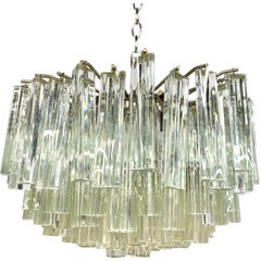 Camer Glass Midcentury Murano Glass Chandelier