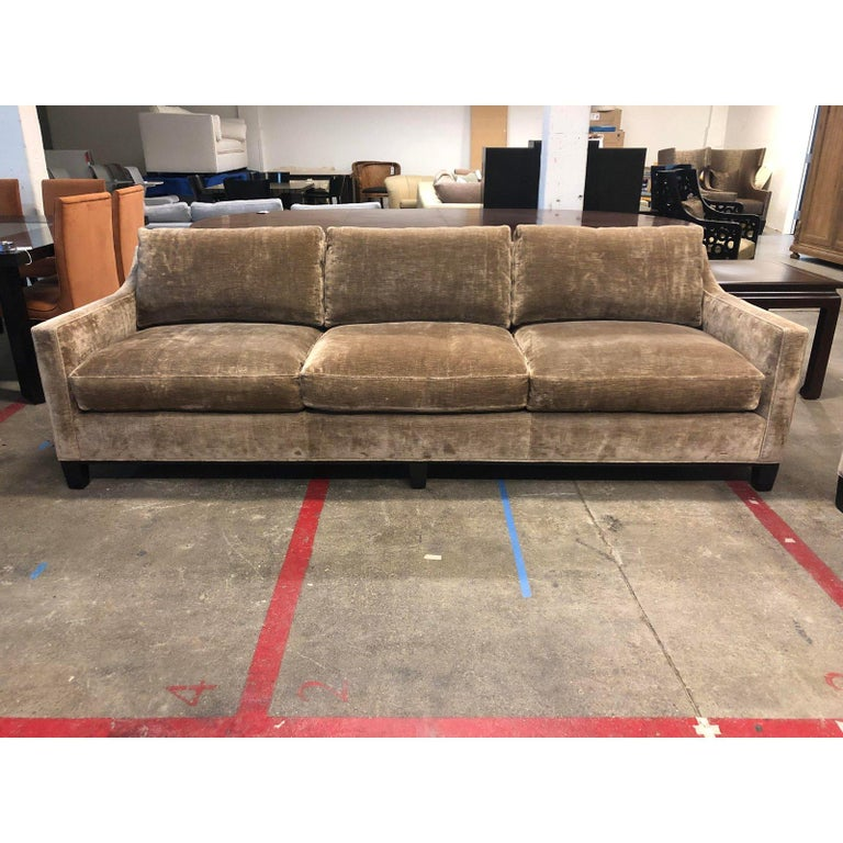 Cameron Collection Lower Park Avenue Loveseat and Sofa In Good Condition For Sale In San Francisco, CA
