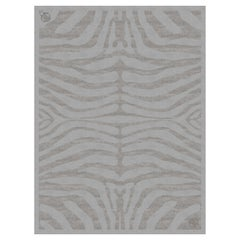Cameron Handtufted Rug in Wool and Bamboo Silk by Roberto Cavalli Home Interiors